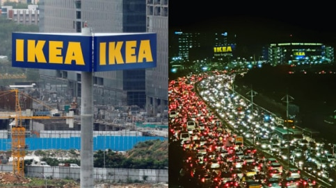 IKEA launched their first store in India Photo: Twitter/@RaviKorukonda