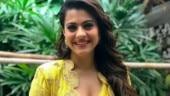 Kajol in this yellow asymmetrical saree is giving us a headache. See pics