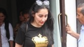 Maanayata Dutt steps out in all-black for lunch date. See pics