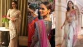 Manushi Chhillar is gorgeous beyond words in a saree. See pics