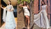 Manushi Chhillar is an ethereal diva in these white outfits. See pics