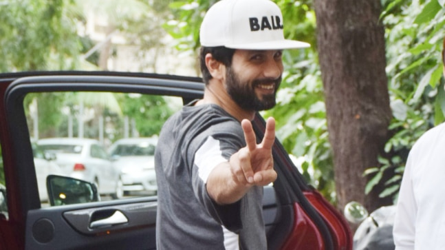 Shahid Kapoor got himself a brand-new Mercedes-Benz car today