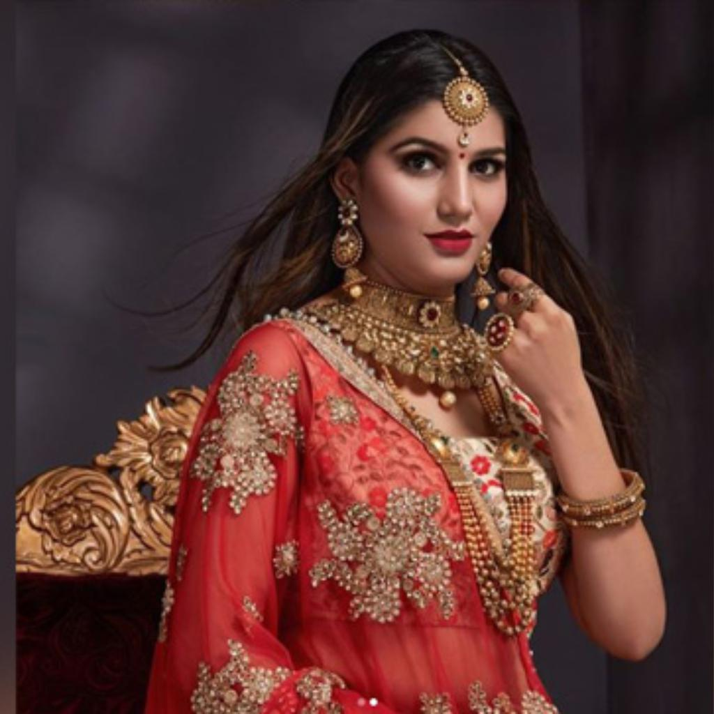 Bigg Boss 11 S Sapna Choudhary S Bridal Photo Shoot Will
