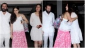 Sara and Kareena's hug after dinner date with Saif Ali Khan is unmissable. See pics