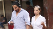 Kim Sharma and Harshvardhan Rane hand-in-hand on lunch date. See pics