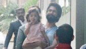 Shahid Kapoor takes Misha to hospital to meet little brother Zain. See pics