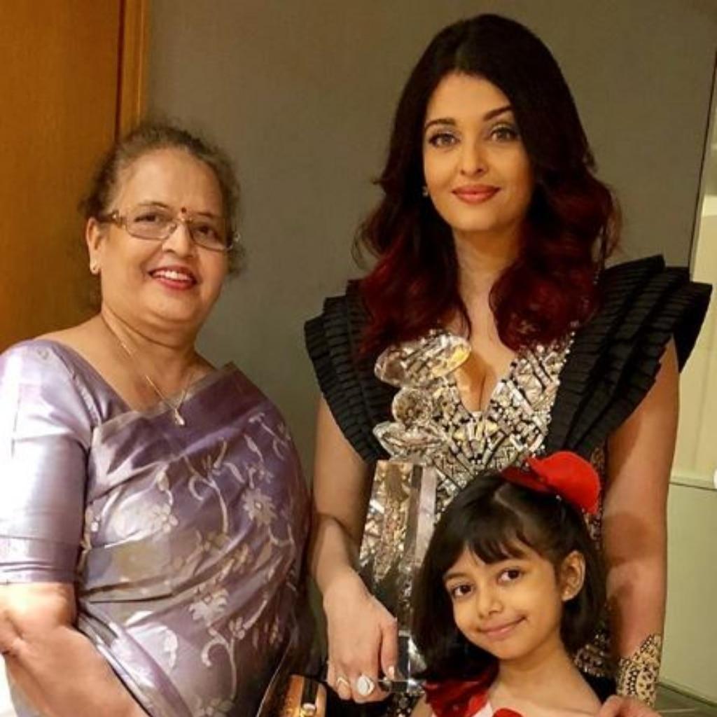 Aishwarya Rai Bachchan, Aaradhya and Vrinda Rai
