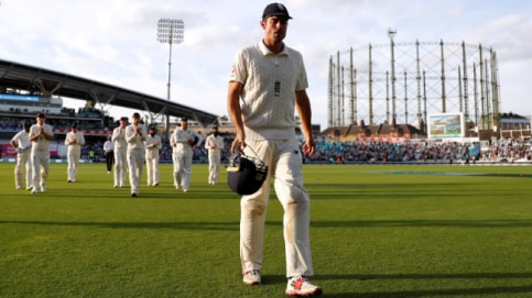 Alastair Cook, India vs England, century, fifth Test, Oval