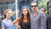 Arjun Rampal's lunch date with daughters Myra and Mahikaa. See pics