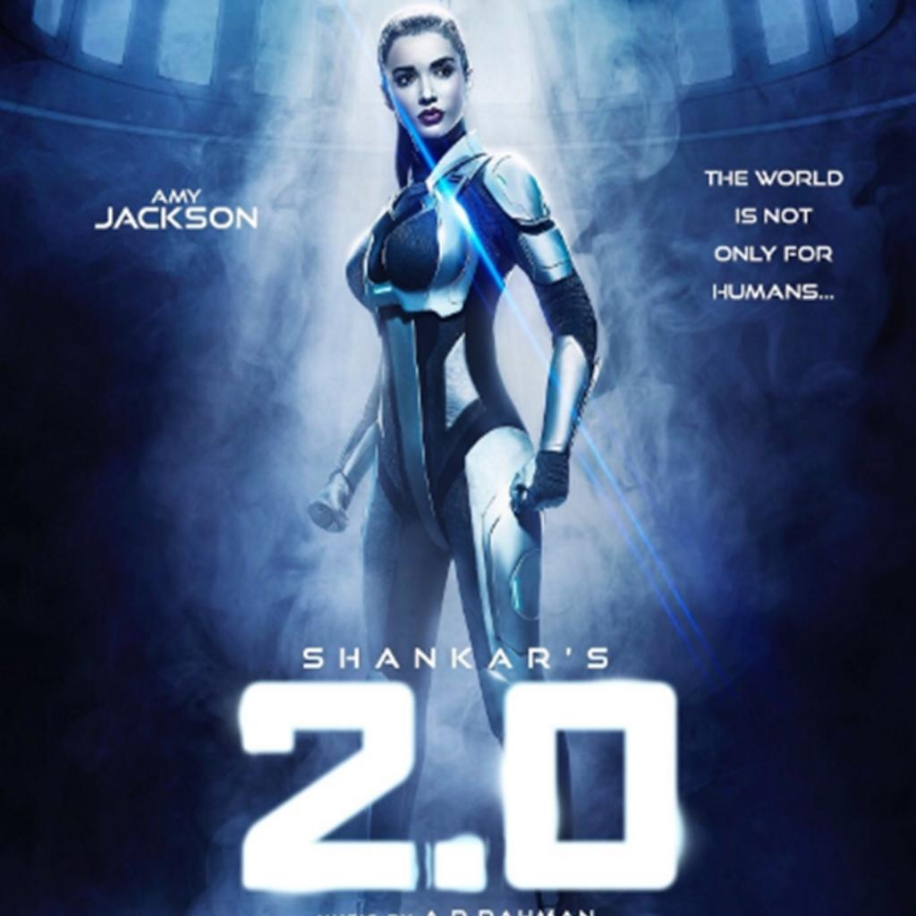 Amy Jackson in 2.0