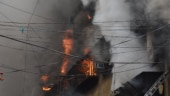 SEE | Fire rages on at Bagree Market in Kolkata