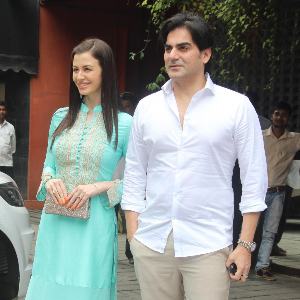 Arbaaz Khan and Giorgia Andriani