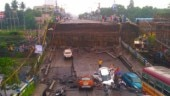 Majerhat bridge in Kolkata collapses, leaves cars smashed, people injured