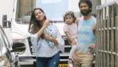 Shahid Kapoor and Mira Rajput with their two kids Photo: Yogen Shah