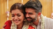 Swathi Reddy is one happy bride as she marries beau Vikas. See pics