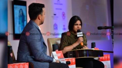 Meghna Mishra at India Today Woman Summit