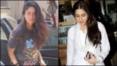 Kareena flaunts love for rock as Sara Ali Khan glows in white. See pics
