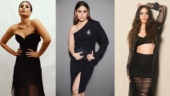 Kareena Kapoor Khan in black