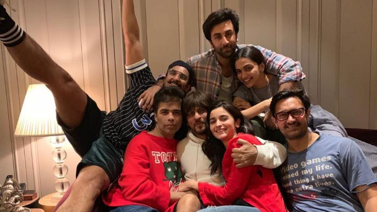 Ranbir Kapoor and Alia Bhatt bonded with Deepika Padukone and Ranveer Singh at an epic house party