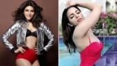 Shama Sikander is setting the internet on fire in her red-hot monokini; see pics