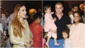 Arpita Khan with Iulia and family bid adieu to Ganpati bappa. See pics