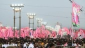Mega rally sees TRS's 2019 campaign in the pink