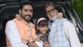 Aaradhya steals the show from Amitabh Bachchan and Abhishek in family photos