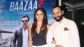 Saif Ali Khan and Kareena Kapoor make for a regal couple at Baazaar screening