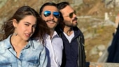 Sara Ali Khan and Ranveer Singh are in Switzerland for Simmba. See pics