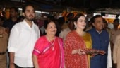 The Ambani family spotted at Siddhivinayak temple. Photo: Yogen Shah