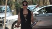 Kareena Kapoor slays gym fashion in sexy cage bra and black tights