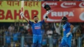 1st ODI: Kohli, Rohit centuries power India to 8-wicket win over West Indies