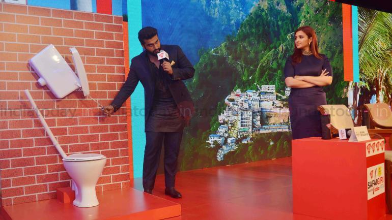 Arjun Kapoor and Parineeti Chopra Photo: Milind Uttam Shelte