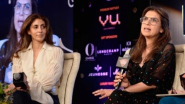 Shweta Bachchan Nanda and Monisha Jaising at Robb Report Limited Edition 2018
