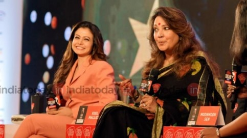 Koel Mallick and Moonmoon Sen