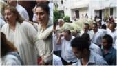 Krishna Raj Kapoor funeral: Kapoor family at Chembur crematorium for last rites