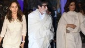 Krishna Raj Kapoor prayer meet: Big B-Madhuri-Twinkle, B-Town pays tribute