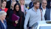 Meghan Markle and Prince Harry arrive in Sydney