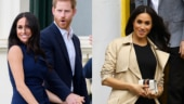 Pregnant Meghan Markle is gorgeous in two outfits with Prince Harry