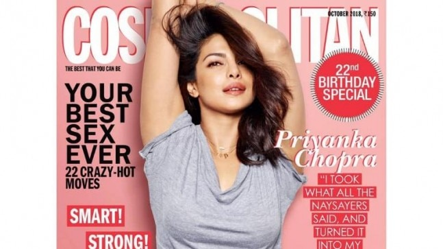 Priyanka Chopra Photo: Instagram/cosmoindia