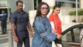 Rani Mukerji in this co-ord outfit is devastatingly tacky. See pics