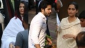 Krishna Raj Kapoor death: Aishwarya, Sonam and Varun pay last respects