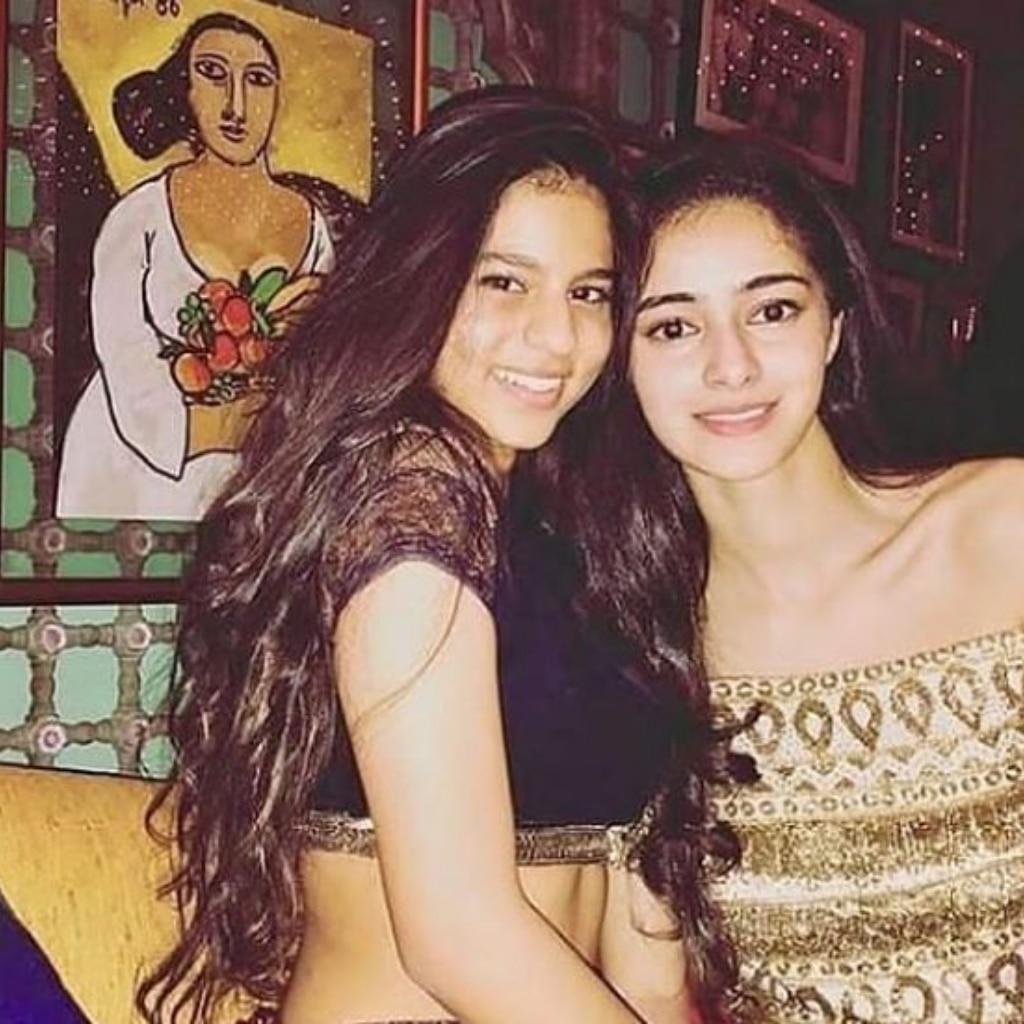 Suhana Khan and Ananya Panday