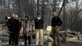 Trump consoles Californians as death toll rises to 76 due to wildfire