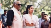 IFFI 2018: Janhvi Kapoor makes her second appearance with dad Boney Kapoor