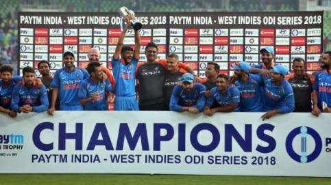 India vs West Indies, ODI cricket