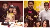 Aaradhya Bachchan celebrates birthday with Aishwarya, Abhishek and Amitabh. Inside pics