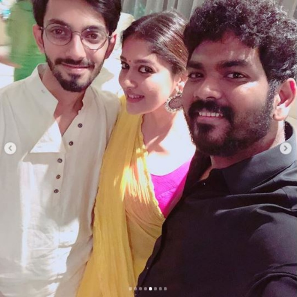 Anirudh Ravichander, Nayanthara and Vignesh Shivan