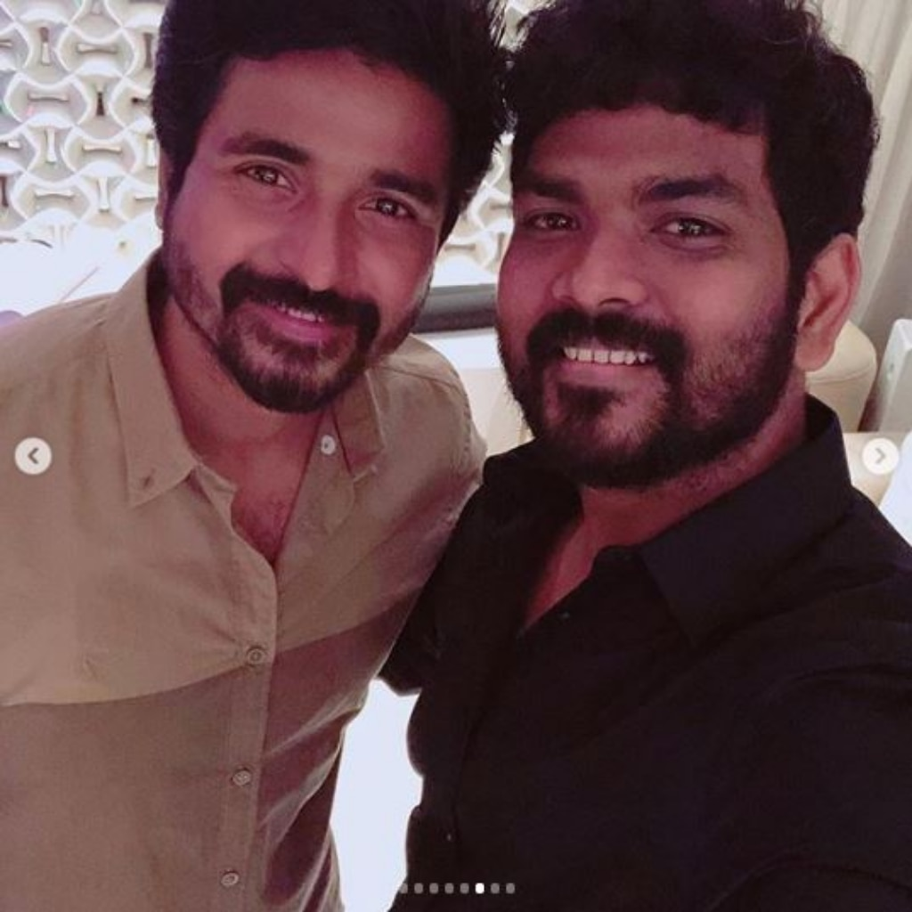Sivakarthikeyan and Vignesh Shivan