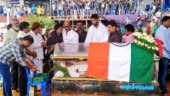 Kannada actor Ambareesh last rites: Rajinikanth, Chiranjeevi pay their respects